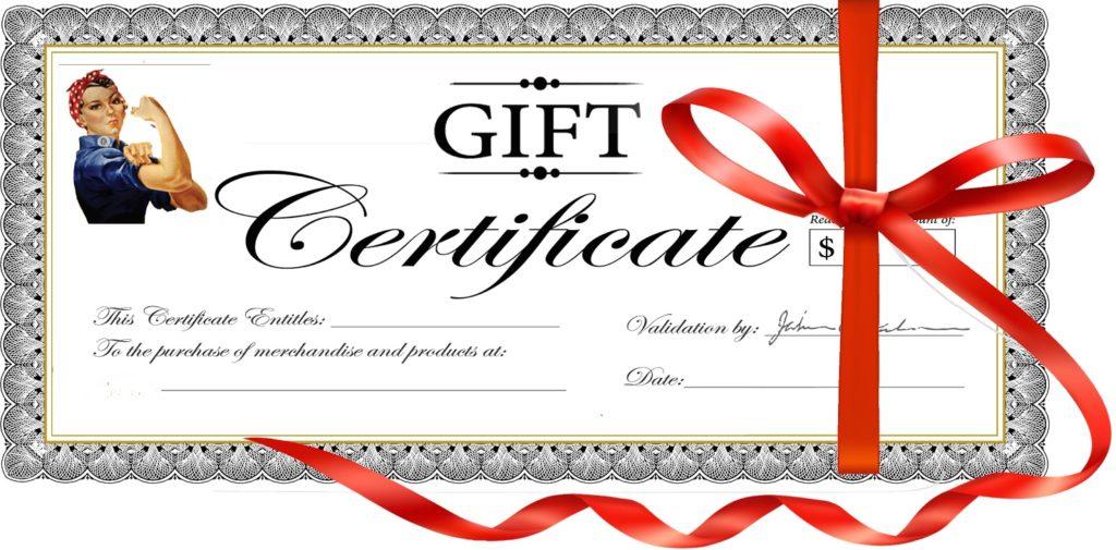 manic maids gift certificates
