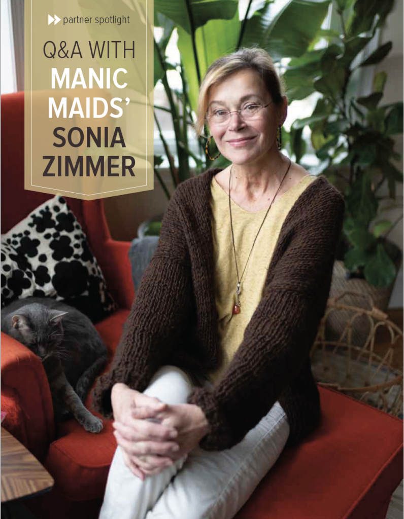 Sonia Zimmer, Founder & CEO, Manic Maids, Inc.